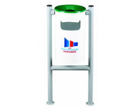 H Tipi Dış Mekan Çöp Kovası