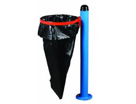 Poşetli Borulu Dış Mekan Çöp Kovası
