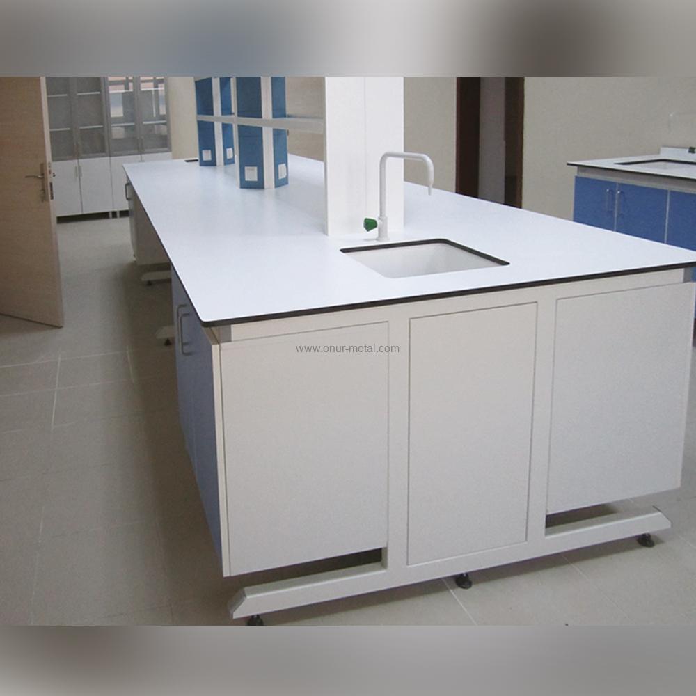 Kimya Laboratuarı Orta Tezgah